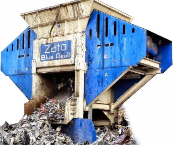 Rotary Shear & Hammer Mill Shredders