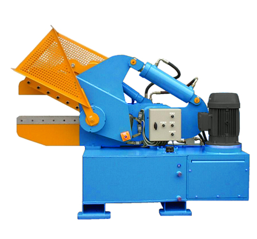 alligator shear for shearing rebar