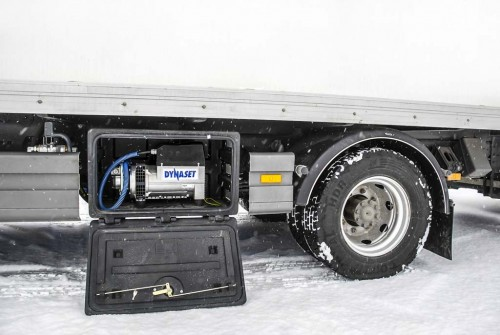 truck mounted pto generator system for semi truck