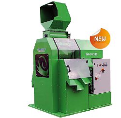 Green scrap wire recycling machine