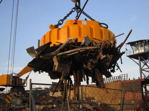 Construction Heavy Duty Crane Magnet