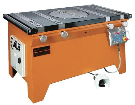 TABLE TOP REBAR BENIDNG MACHINE