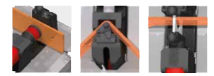machine bending, punching, and cutting busbar
