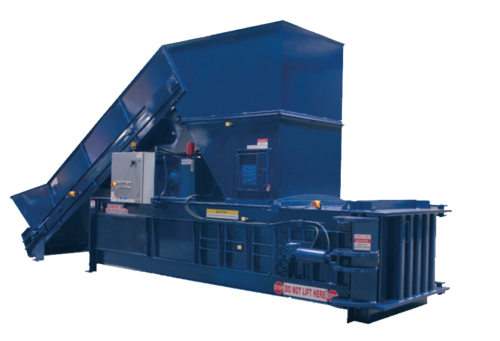 Horizontal Full-Eject Closed Door Balers