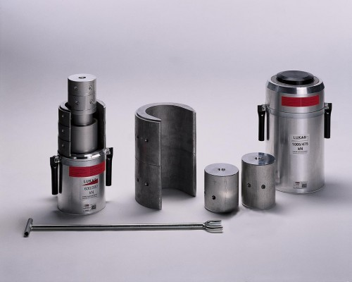 Cross Section of Hydraulic Cylinder