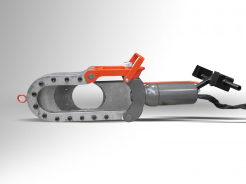 chain and wire rope cutter
